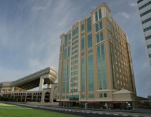 Building of the Elite Byblos Hotel 5* (Al Barsha, Dubai, UAE)
