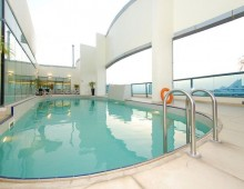 Pool in the Elite Byblos Hotel 5* (Al Barsha, Dubai, UAE)