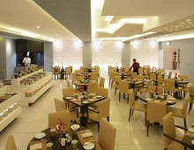 Restaurant in the Elite Byblos Hotel 5* (Al Barsha, Dubai, UAE)