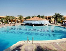 Pool in the hotel Smartline Bin Majid Beach Resort 4* (Ras Al Khaimah, UAE)