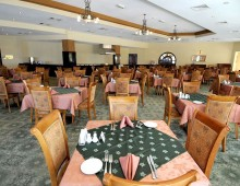 Restaurant in the hotel Smartline Bin Majid Beach Resort 4* (Ras Al Khaimah, UAE)