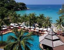 Beach near the hotel Beyond Resort Kata 4* (Kata Beach, Phuket, Thailand)