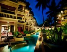 Building with pool in the hotel Beyond Resort Kata 4* (Kata Beach, Phuket, Thailand)