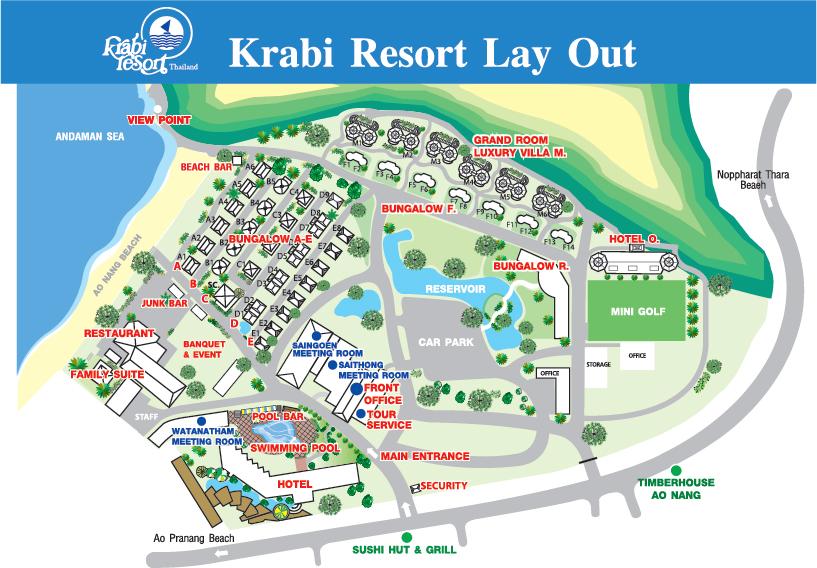 Resort 4 Krabi Thailand