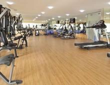 Fitness room in the Mangrove Hotel Ras Al Khaimah 4* (UAE)