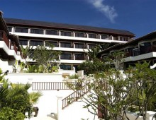Building of the hotel Panwa Boutique Beach Resort 4* (Phuket, Thailand)