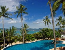 Pool in the hotel Panwa Boutique Beach Resort 4* (Phuket, Thailand)