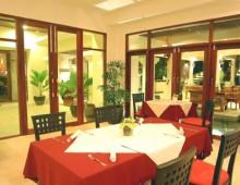 Restaurant in the hotel Panwa Boutique Beach Resort 4* (Phuket, Thailand)