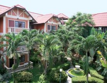 Garden of the Prima Wongamat Hotel 4* (Pattaya, Thailand)