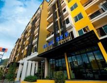 Building of the hotel Tuana Blue Sky Resort 3* (Patong Beach, Phuket, Thailand)