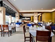 Restaurant in the hotel Tuana Blue Sky Resort 3* (Patong Beach, Phuket, Thailand)