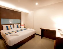 Deluxe room in the hotel Tuana Blue Sky Resort 3* (Patong Beach, Phuket, Thailand)