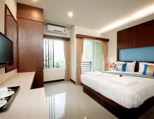 Standard room in the hotel Tuana Blue Sky Resort 3* (Patong Beach, Phuket, Thailand)