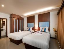 Superior room in the hotel Tuana Blue Sky Resort 3* (Patong Beach, Phuket, Thailand)