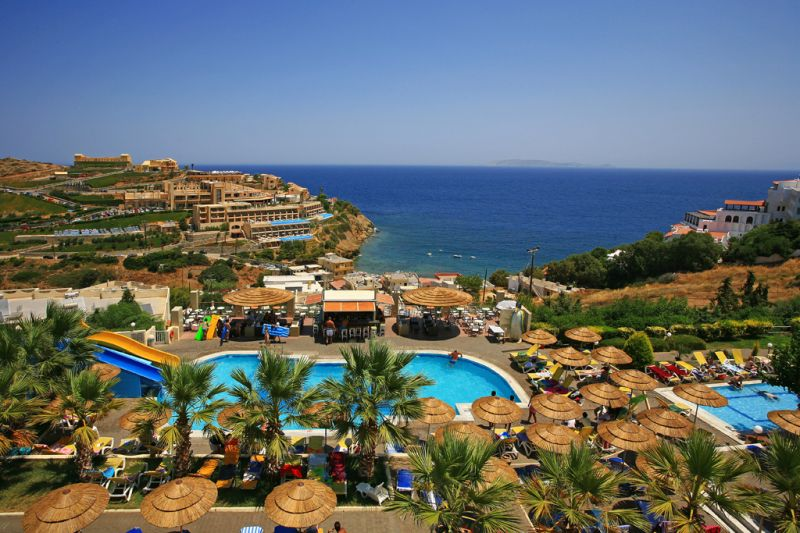 Blue Bay Resort Amp Spa Hotel 4 Agia Pelagia Crete Greece