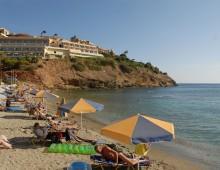 Beach of hotel Sea Side Resort & Spa 5* (Agia Pelagia, Crete, Greece)