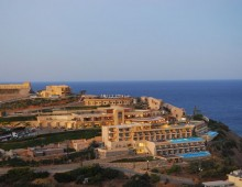 Panorama of hotel Sea Side Resort & Spa 5* (Agia Pelagia, Crete, Greece)