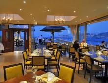 Restaurant in hotel Sea Side Resort & Spa 5* (Agia Pelagia, Crete, Greece)