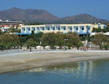 Panorama of the hotel Vasia Ormos 3* (Agios Nikolaos, Crete, Greece)