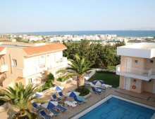 Panorama of the Lavris Hotels & Spa 4* (Gouves, Crete, Greece)