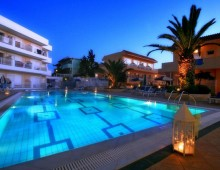 Pool in the Lavris Hotels & Spa 4* (Gouves, Crete, Greece)