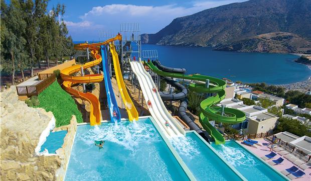 Fodele Beach Water Park Holiday Resort 5 Crete Greece