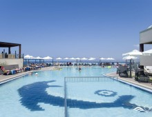 Pool in the hotel CHC Galini Sea View 5* (Chania, Crete, Greece)