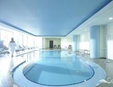 Indoor pool in the hotel CHC Galini Sea View 5* (Chania, Crete, Greece)