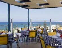 Restaurant in the hotel CHC Galini Sea View 5* (Chania, Crete, Greece)