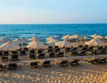 Beach of the Hotel I-Resort Beach Hotel & Spa 5* (Crete, Greece)