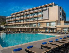 Pool in the I-Resort Beach Hotel & Spa 5* (Crete, Greece)