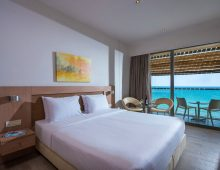 Double Sea View Room in the I-Resort Beach Hotel & Spa 5* (Crete, Greece)