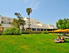 Building of the hotel Aqua Dora Resort & Spa 4* (Tholos, Theologos, Rhodes, Greece)