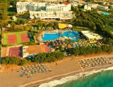Panorama of the hotel Aqua Dora Resort & Spa 4* (Tholos, Theologos, Rhodes, Greece)