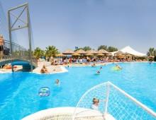 Pool in the hotel Aqua Dora Resort & Spa 4* (Tholos, Theologos, Rhodes, Greece)