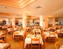 Restaurant in the hotel Aqua Dora Resort & Spa 4* (Tholos, Theologos, Rhodes, Greece)