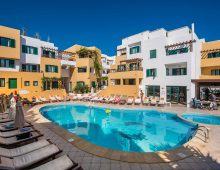 Panorama of hotel Porto Greco Village 4* (Hersonissos, Crete, Greece)