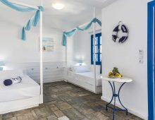 Family Room Land View in hotel Porto Greco Village 4* (Hersonissos, Crete, Greece)