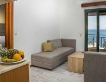 Family Room Sea View in hotel Porto Greco Village 4* (Hersonissos, Crete, Greece)