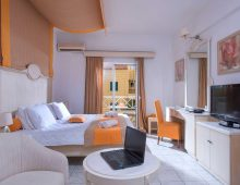 Standard Room Land View in hotel Porto Greco Village 4* (Hersonissos, Crete, Greece)