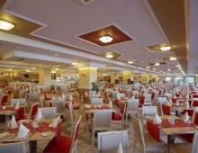 Main restaurant in the Amilia Mare 5* in Kalithea, Rhodes, Greece