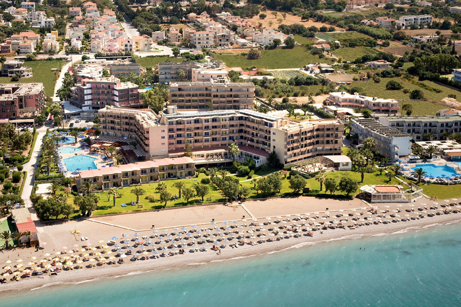 Sun Beach Resort Complex 4 Ialyssos Rhodes Greece