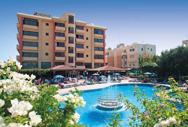 Arsinoe Beach Hotel  Limassol Cyprus