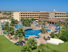 Panorama of the Nissiana Hotel & Bungalows 3* (Ayia Napa, Cyprus)