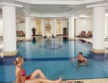 Indoor pool in the Nissiana Hotel & Bungalows 3* (Ayia Napa, Cyprus)
