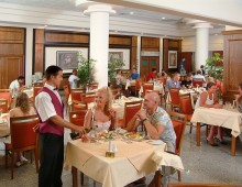 Restaurant in the Nissiana Hotel & Bungalows 3* (Ayia Napa, Cyprus)