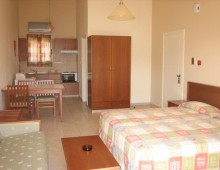 Room in the bungalow in the Nissiana Hotel & Bungalows 3* (Ayia Napa, Cyprus)