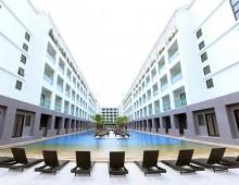 Panorama of the hotel Woraburi Pattaya Resort & Spa 4* (Pattaya, Thailand)