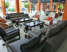 Lobby in the hotel Woraburi Pattaya Resort & Spa 4* (Pattaya, Thailand)