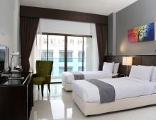 Superior Pool View Room in the hotel Woraburi Pattaya Resort & Spa 4* (Pattaya, Thailand)